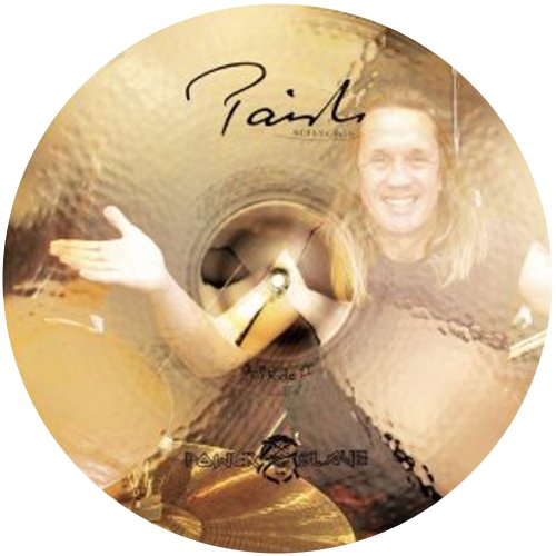 PAISTE SIGNATURE REFLECTOR 22 BELL THE POWERSLAVE RIDE · PLATO RIDE