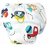 Tefamore Pañales bebé de Tela Reutilizables Pantalones de entrenamiento de algodón para Pañales lavables