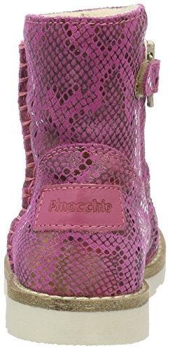 Pinocchio P2402, Bottes mi-hauteur avec doublure chaude fille Rose - Pink (84CO/Bc)
