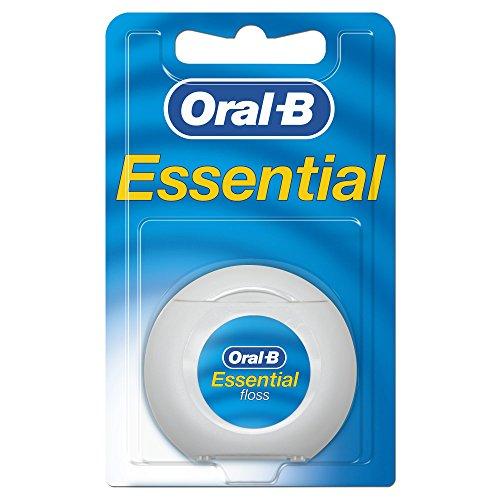 Oral-B Essentialfloss Zahnseide Mint gewachst, 50 m -