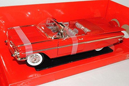 chevrolet-impala-cabrio-rot-1959-1964-1-generation-1-18-yatming-modell-auto