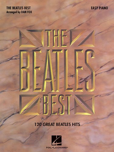 Beatles best for easy piano piano (Easy Piano (Hal Leonard))