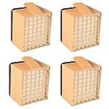 YanBan For Vorwerk HEPA Filters, Vorwerk Accessories Microfiltro Higiénico para Vorwerk Kobold Aspirador VK135 VK136, Paquete de 4