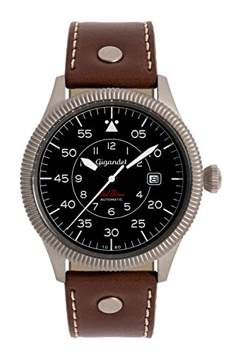 Gigandet G8-002 Herren Uhr, Lederband braun