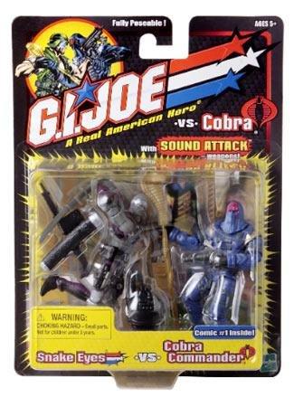 G.I. Joe Vs Cobra Snake Eyes Vs Cobra