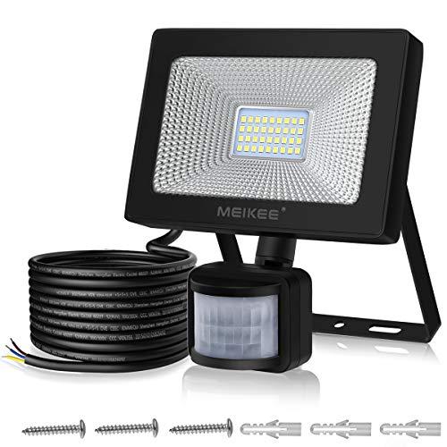 Foco LED con Sensor Movimiento de 3000LM