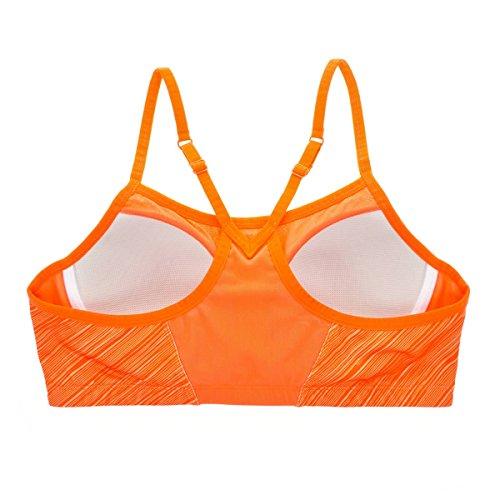 La Isla Femme Soutien Gorge de Sport Alexis Moulé Dos nageur Orange