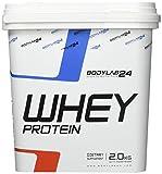 Bodylab24 Whey Protein Eiweißpulver, Geschmack: Latte Machiato , hochwertiges Proteinpulver, Low Carb Eiweiß-Shake für Muskelaufbau und Fitness, 2000g
