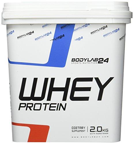Bodylab24 Whey Protein Eiweißpulver | 2kg | Latte Macchiato | hochwertiges Proteinpulver, Low Carb Eiweiß-Shake für Muskelaufbau und Fitness