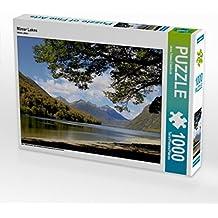 Mirror Lakes 1000 Teile Puzzle quer: eine fantastische Entdeckungsreise im Land der Kiwis (CALVENDO Natur)