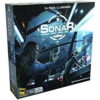 Matagot Captain SONAR Board Game - English Edition