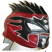 RED KALISTO - THE LUCHA DRAGONS De Lujo Máscara Infantil De Lujo Con Cremallera