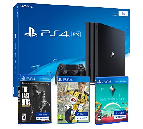 PS4 PRO 1TB Playstation 4 - PACK 4K -...