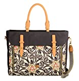 Oilily Damen Office Bag Laptop Tasche, Grau (Charcoal),