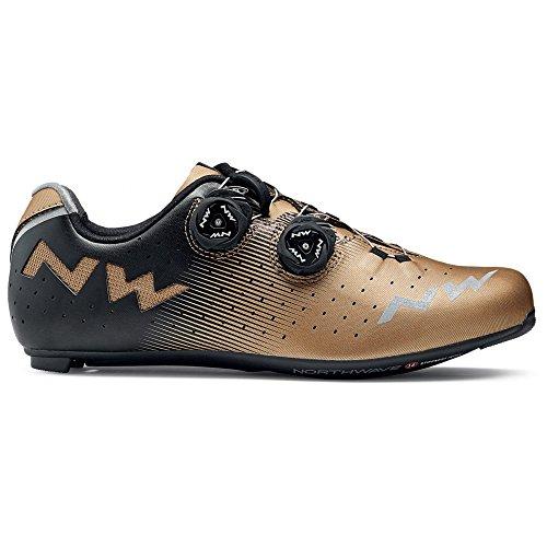 Northwave Revolution per bici da corsa scarpe Bronzo/Nero 2018, Uomo, bianco, 46