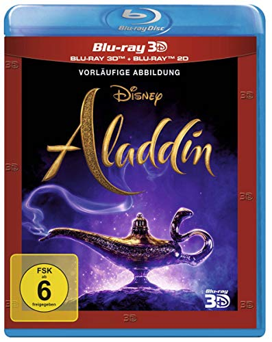 Aladdin (Live-Action) [3D Blu-ray]