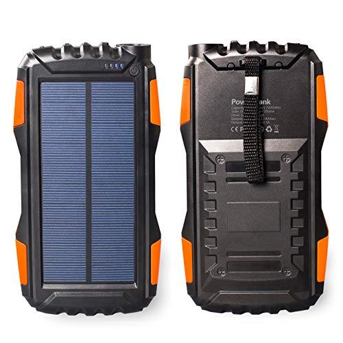 La batterie solaire externe Friendgood YD-819, pour les randonneurs