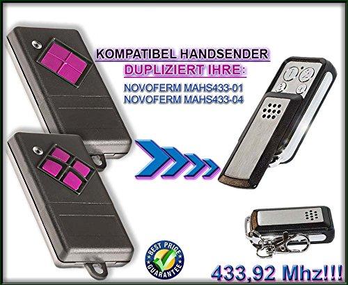Novoferm kompatibel handsender / klone TR-373