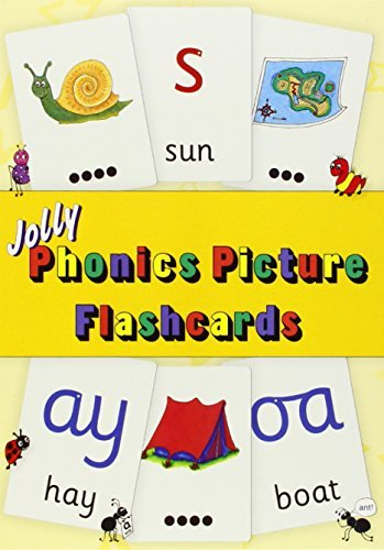 Jolly Phonics Picture Flash Cards by Sara Wernham (2014-09-30)