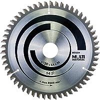 Bosch Professional Kreissägeblatt Multi Material zum Sägen in Multimaterial für Handkreissägen (Ør 190 mm)