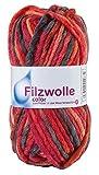 Filzwolle Color, 50 g Kirsche 21