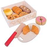 Bigjigs Toys Cassetta di pane e dolcetti da tagliare