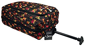 Brand New Womens Girls Wheeled Expandable Hand Luggage Holdall Travel Flight Bag Suitcase