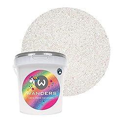 Glitter-Zusatz zum Veredeln von Wandfarben auf Wasserbasis oder zum Basteln colourPlus Glitzer grob Holo-Pink Made in Germany
