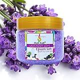 #9: Aromakrafts® Epsom Bath & Foot Spa Salt enriched with Lavender Love Aroma 350g