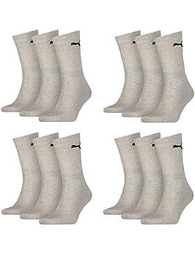 Calcetines deportivos unisex de Puma, pack de 3, unisex, 400 - grey, 43-46