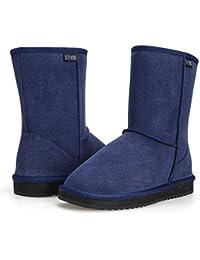 ACEVOG Botas Planas de Nieve Zapatos de Invierno imitación UGG de invierno para mujer