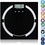 Apgstore 180 Kg Digital Electronic Glass Lcd Bathroom Body Weighing Scale Measuring