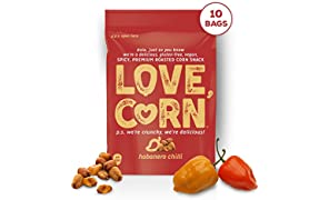 Habanero Premium Roasted Corn - 45G x 10 Bags
