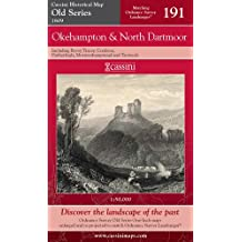 Okehampton and North Dartmoor (Cassini Old Series Historical Map)