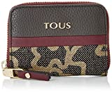 Tous Monedero Mediano Elice New, Mujer, (Gris), 2.5x8x10 cm (W x H x L)