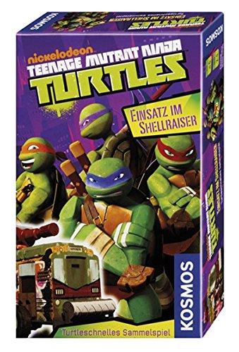 age Mutant Ninja Turtles - Einsatz im Shellraiser, Reisespiel (Teenage Mutant Ninja Turtles Meister Splinter)