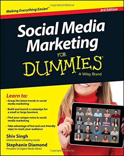 Social Media Marketing For Dummies por Shiv Singh