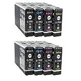 8 kompatible YouPrint Patronen für Epson Workforce Pro WF4630DWF WF4640DTWF WF5110DW WF5190DW WF5620DWF WF5690DWF