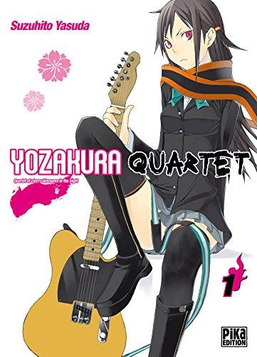 Yozakura Quartet T01 : Quartet of cherry blossoms in the night par Suzuhito Yasuda