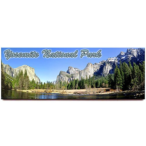 Yosemite National Park Panorama Kühlschrank Magnet California Travel Souvenir