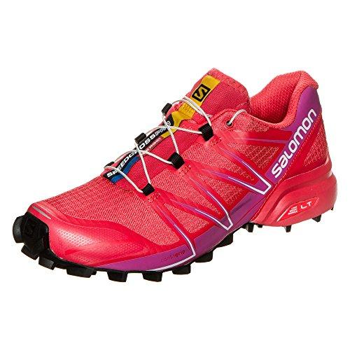 Salomon Speedcross Pro Para Mujer Scarpe Da Trail Corsa - Ss17 Rot / Violett