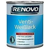 2,5 Liter Venti-Weißlack (13,18 €/Liter) Fensterlack aussen und innen seidenglänzend Ventilationslack (mittel)