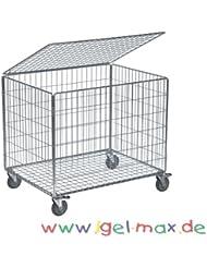 Ballwagen Standard mit Deckel, 392 L, fahrbar<br />