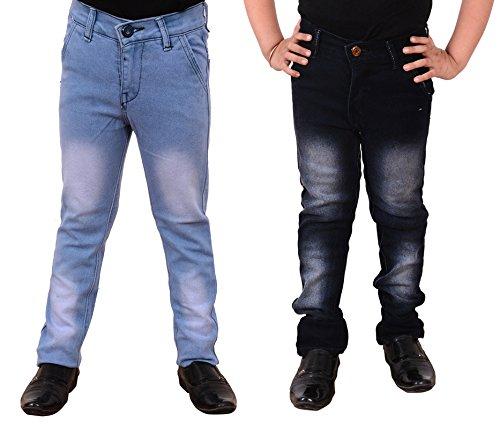 Guchu Boys Jeans Combo, Pack of 2(A5-IB-BL-B-30)