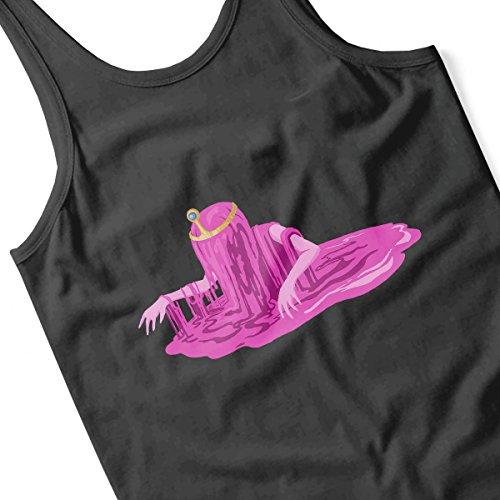 Adventure Times Melting Princess Bubblegum Men's Vest Black