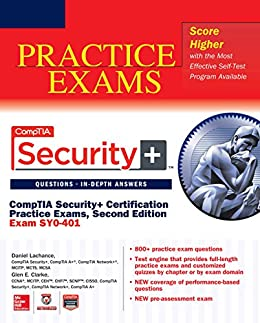 CompTIA Security+ Certification Practice Exams, Second Edition (Exam SY0-401) par [Lachance, Daniel, Clarke, Glen E.]