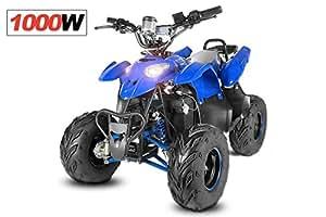 Quad ATV électrique 1000W Eco pour Enfant 48V avec régulateurs de vitesse - Orange, sans Montage