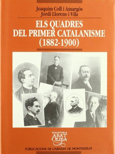 Els quadres del primer catalanisme (Biblioteca Abat Oliba)