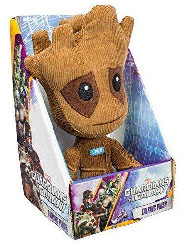 Guardian Of The Galaxy GOG02390 Plüschfigur Groot, mit Sprechfunktion (in englischer Sprache), 22,9cm, mittelgroß