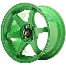 Japan Racing JR3 Verde - 15x8 ET25 4x100/4x108 Llantas de aleación (Competición)